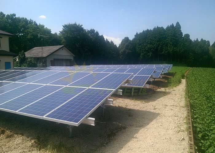 High Flexibility Ground Mount Solar System Long - Life Overall Performance