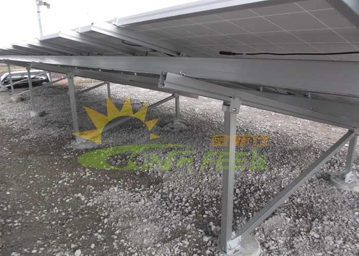 Reliable Ground Mount Solar System With Anodizing Surface Treatment