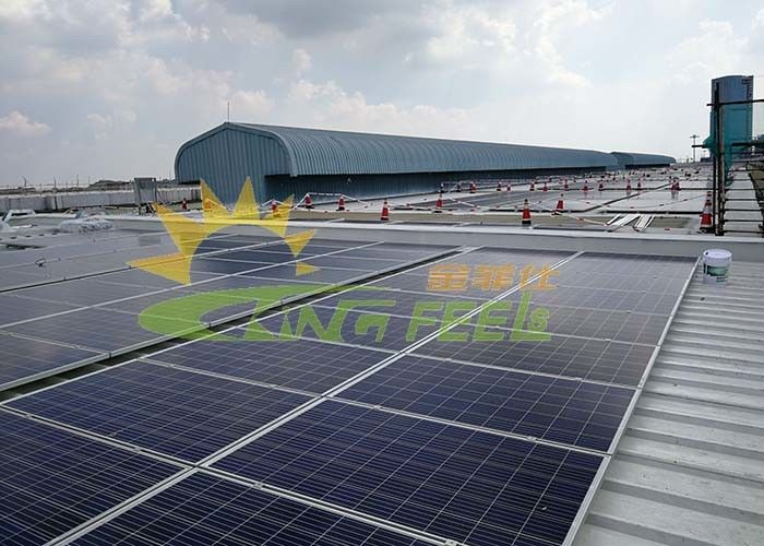 ISO9001 Metal Roof Solar Mounting Systems